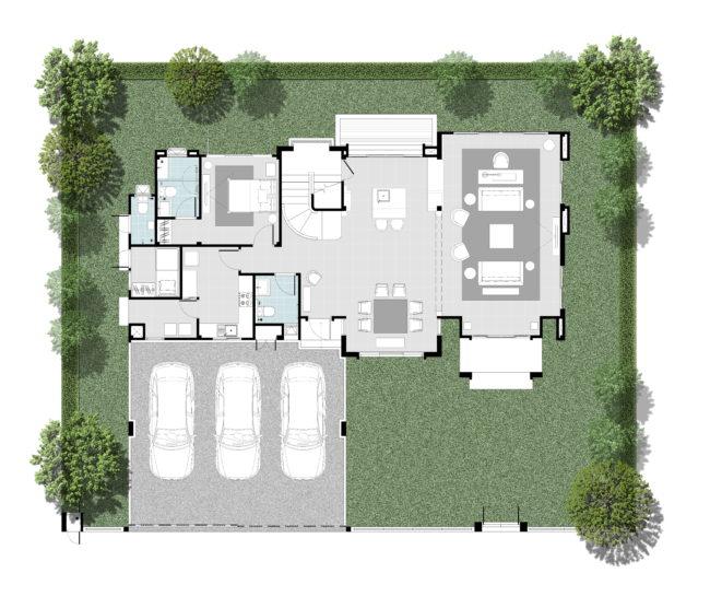 2562-12-8 Floor Plan - Type L - 1F - Rev2