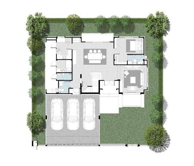 2562-12-8 Floor Plan - Type M - 1F - Rev2